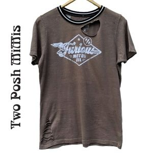 Fast and Furious T Shirt by Affliction Size Medium